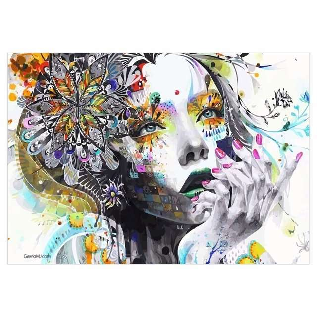 Quadro Arte Moderna Minjae Lee Abstrato Decorativo