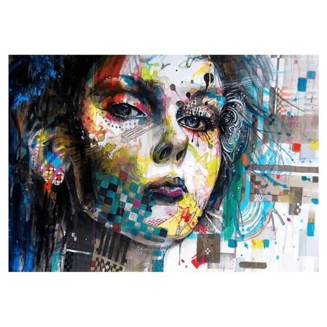 Quadro Arte Moderna Minjae Lee Decoraçao