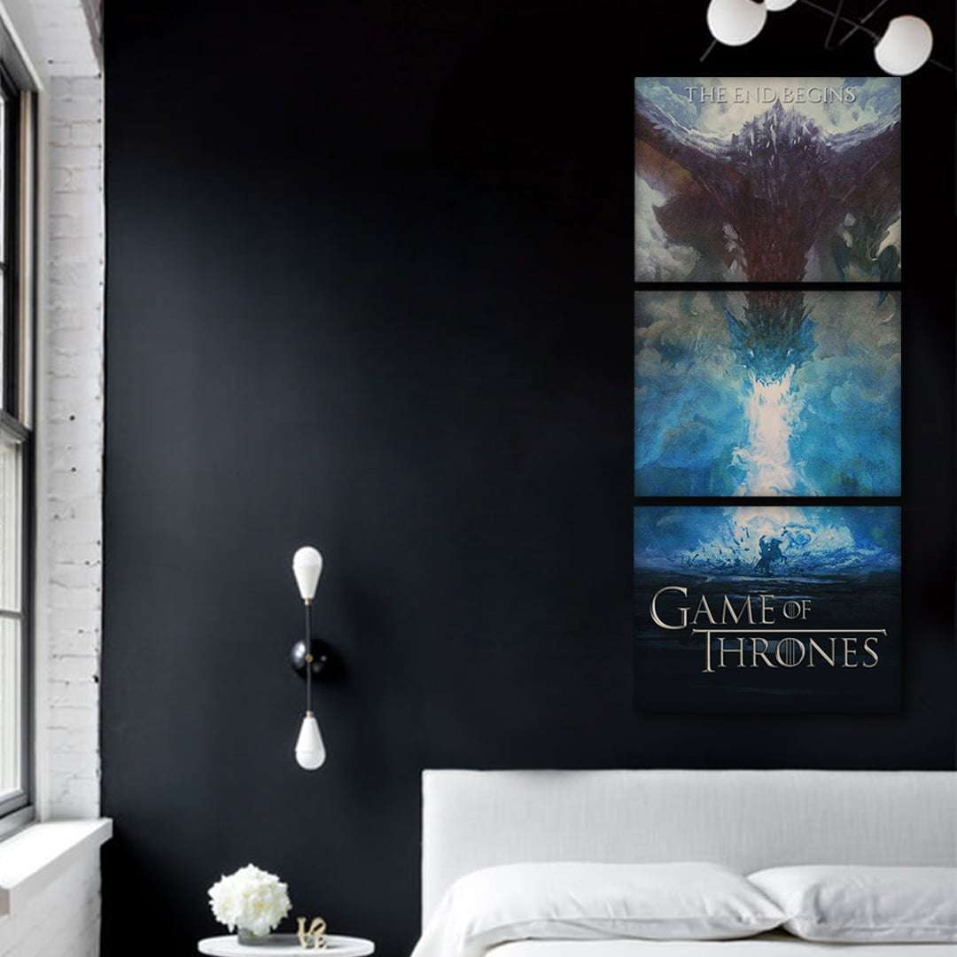 Quadro game of thrones poster da serie