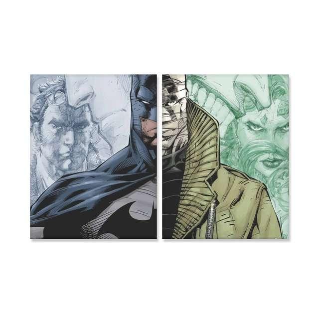 Quadro Batman VS Hush HQ
