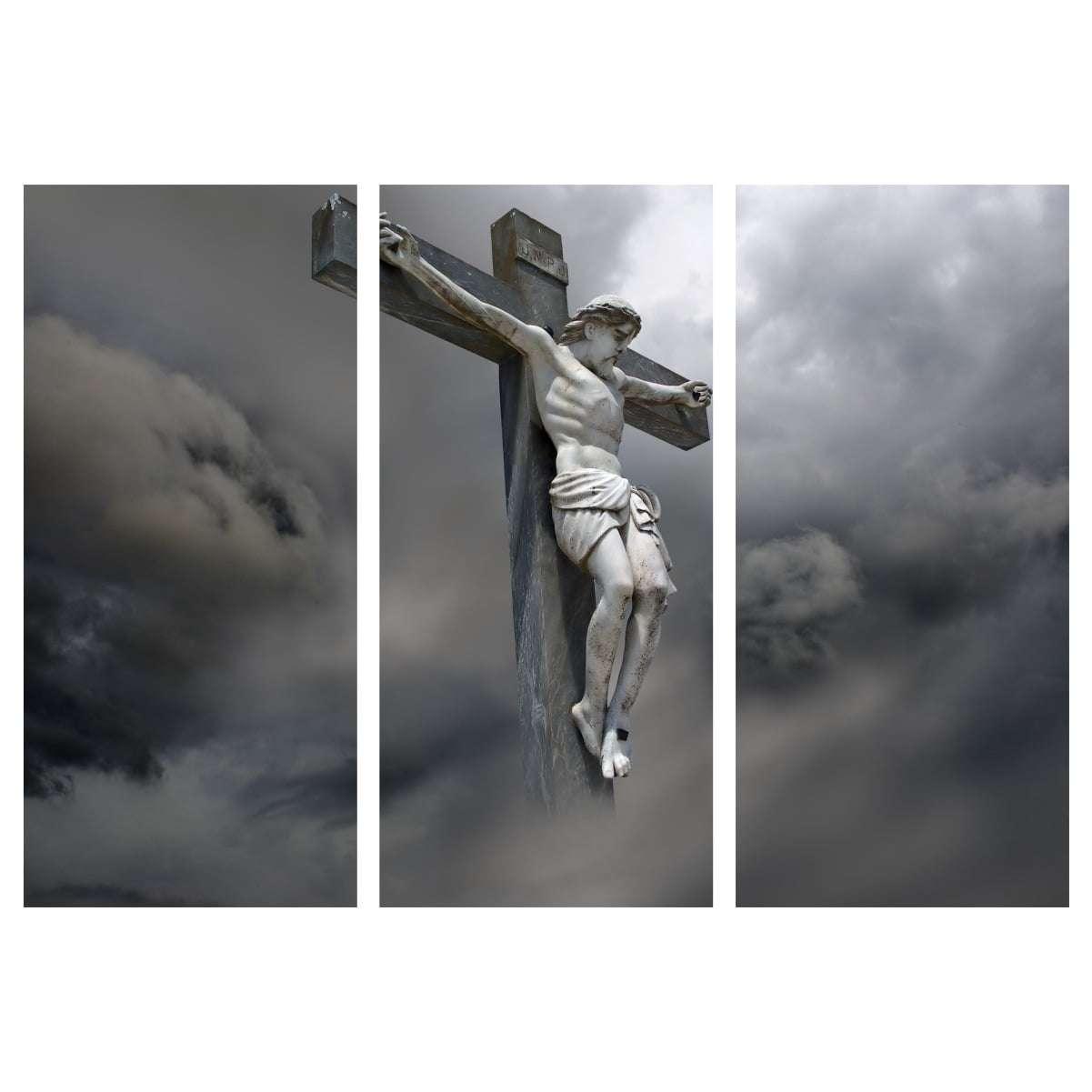 Quadro Jesus Cristo Crucificado para decorar