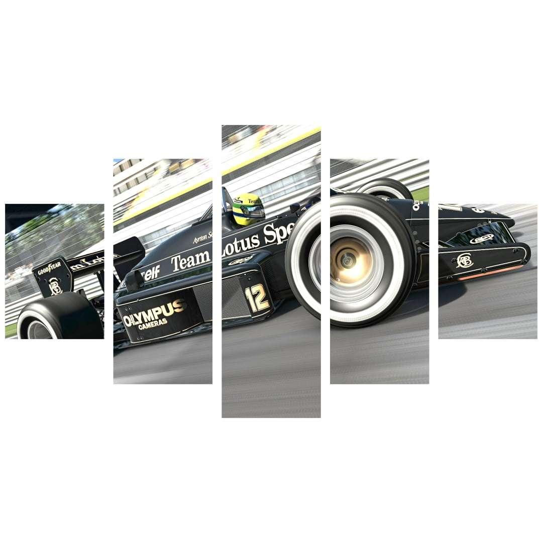 Quadro Lotus Sports Ayrton senna F1