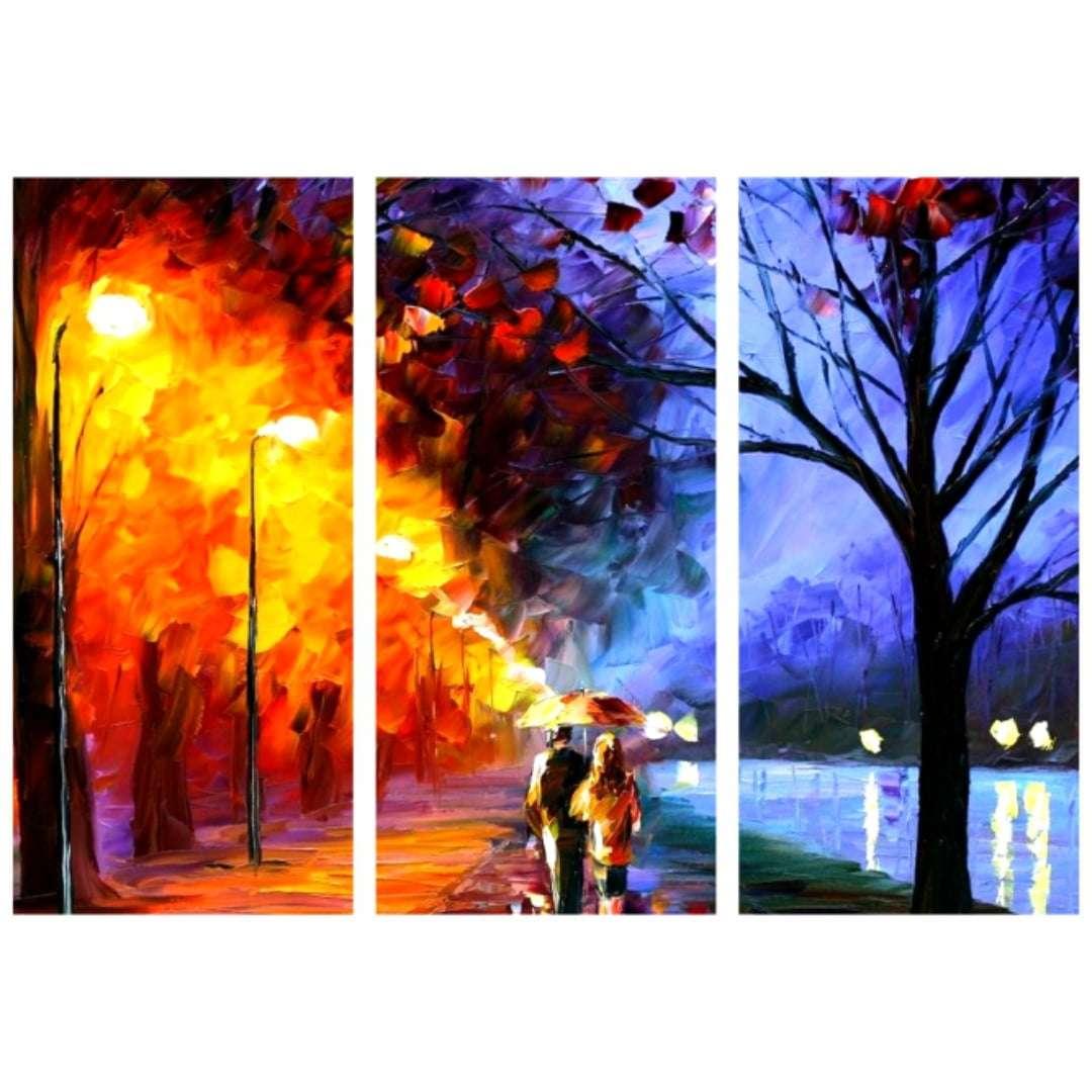 Quadro Decorativo Pintura Aquarela