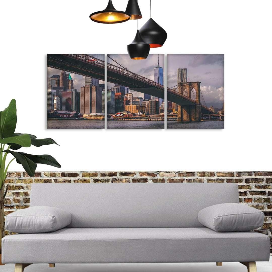 Quadro ponte do brooklyn nova york decorativo