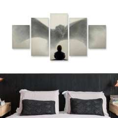 Quadro game of thrones poster tyrion dragao decorativo