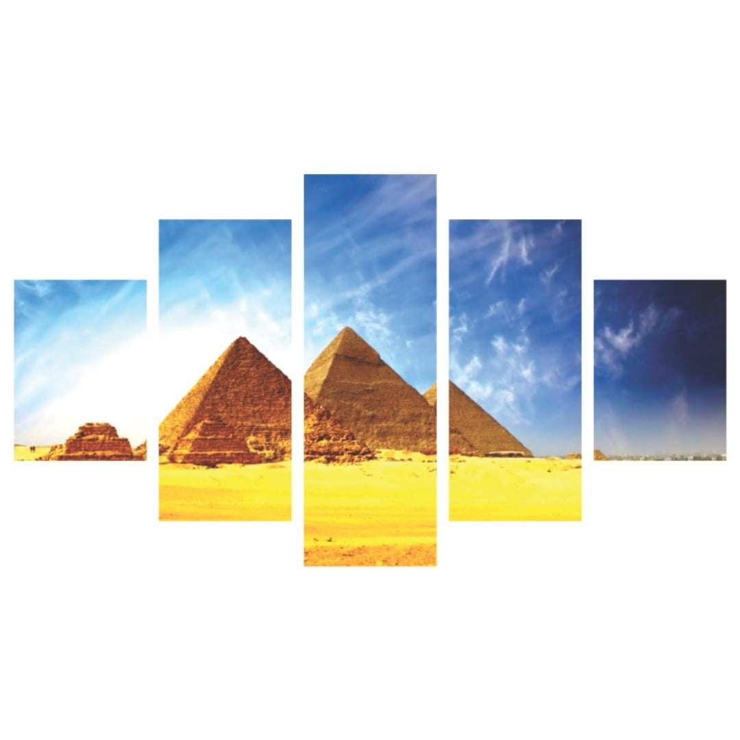 Quadro Piramide de Gizé 7 Maravilhas