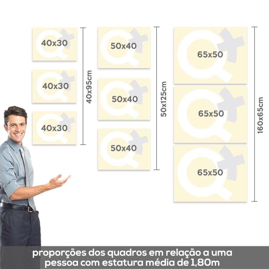 Medidas e proporçoes de quadros na Quadros Mais, Loja de quadros decorativos.