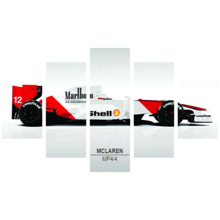 Quadro Mclaren MP4/4 Piloto brasileiro Formula 1