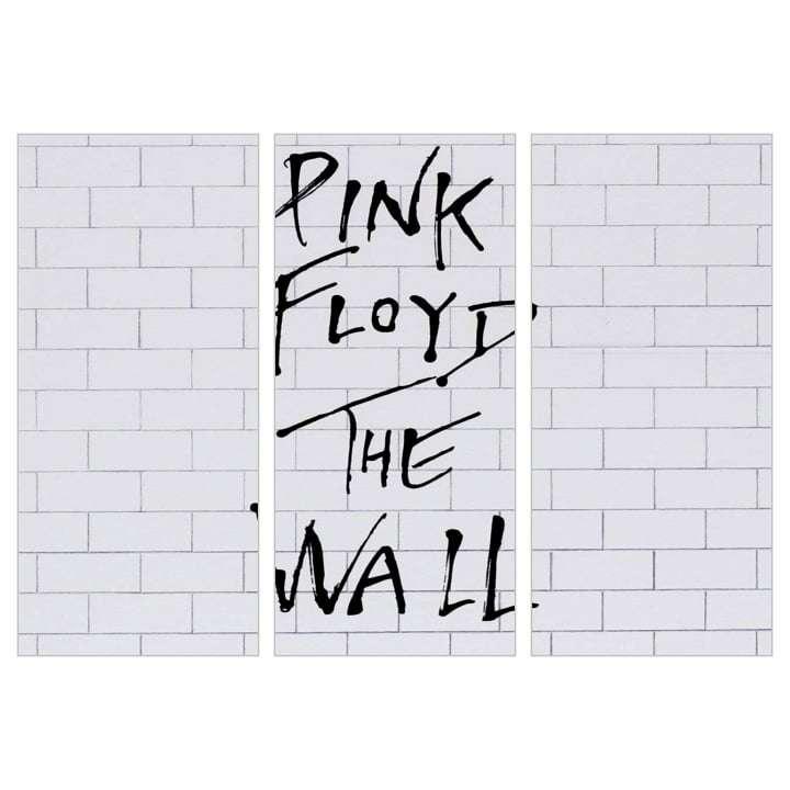Quadro Banda Pink Floyd the wall decorativo