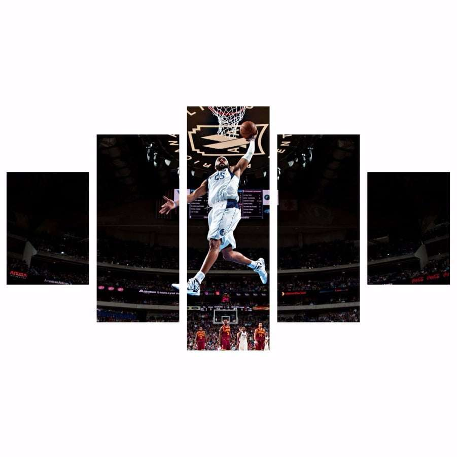 Quadro NBA Basquete Americano Jogador Decorativo