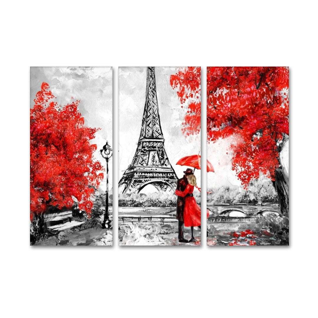 Quadro Paris com amor