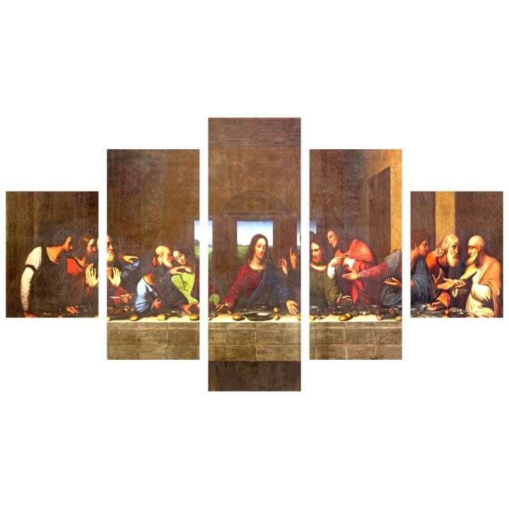 Quadro Jesus Cristo Ultima Ceia Decorativo