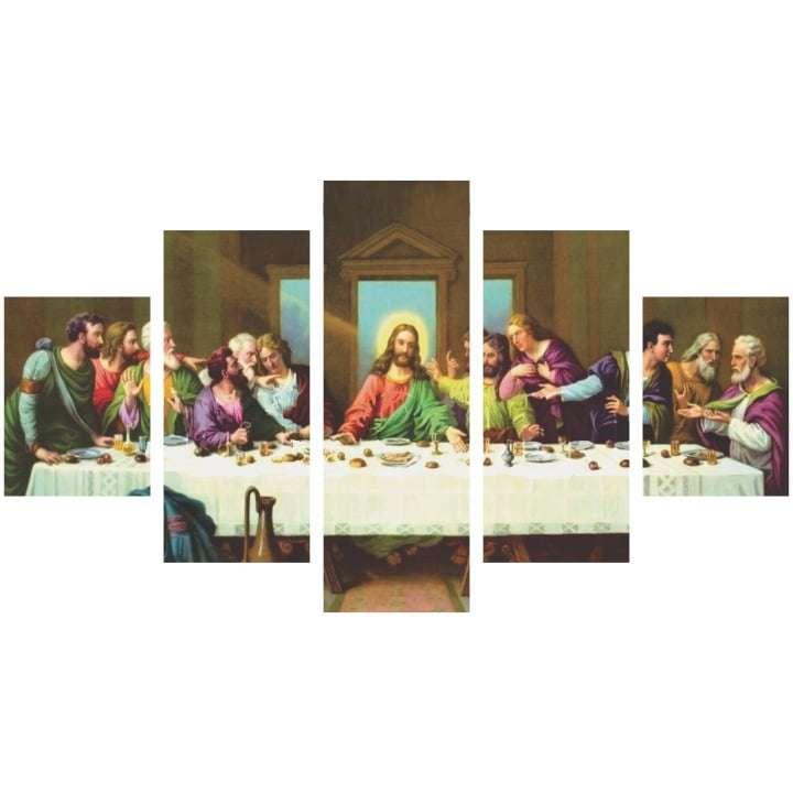 Quadro Religioso Santa Ceia decorativo