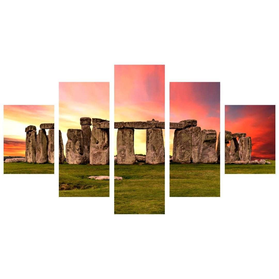 Quadro Stonehenge paisagens decorativo
