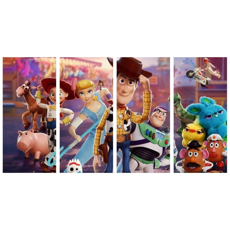 Quadro toy story poster decorativo