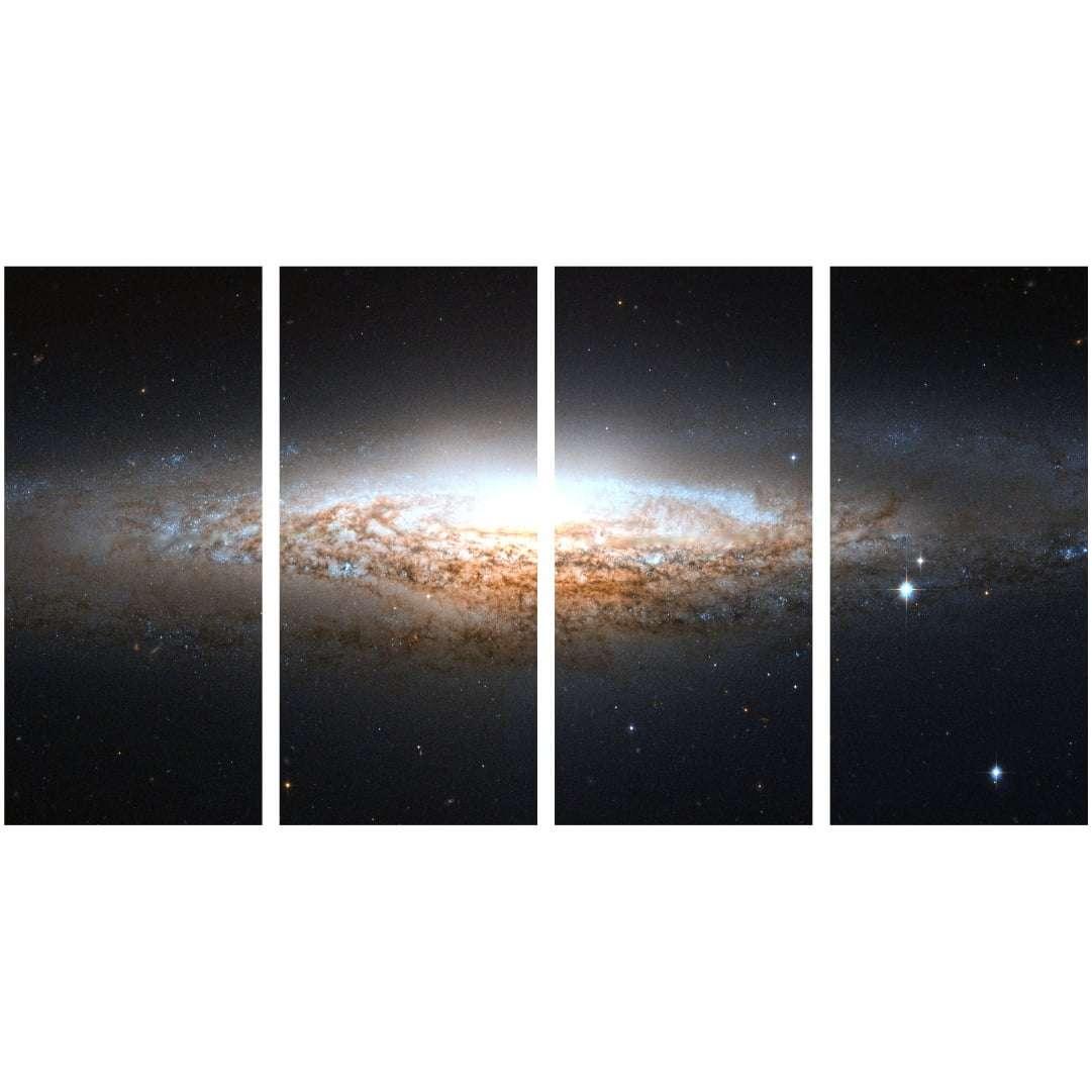 Quadro via lactea espaço estrelas decorativo
