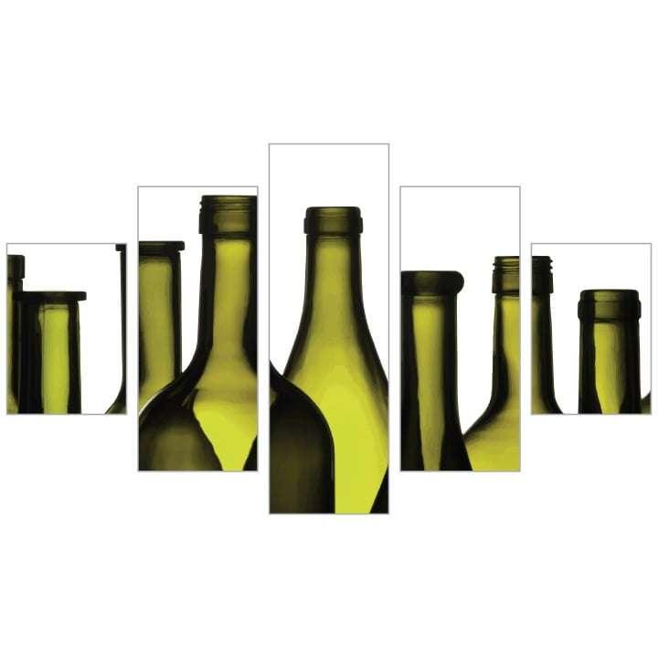 Quadro Vinhos Decorativo Para Sala Em Tela
