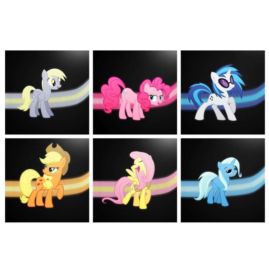 Quadros my little pony infantil decorativo