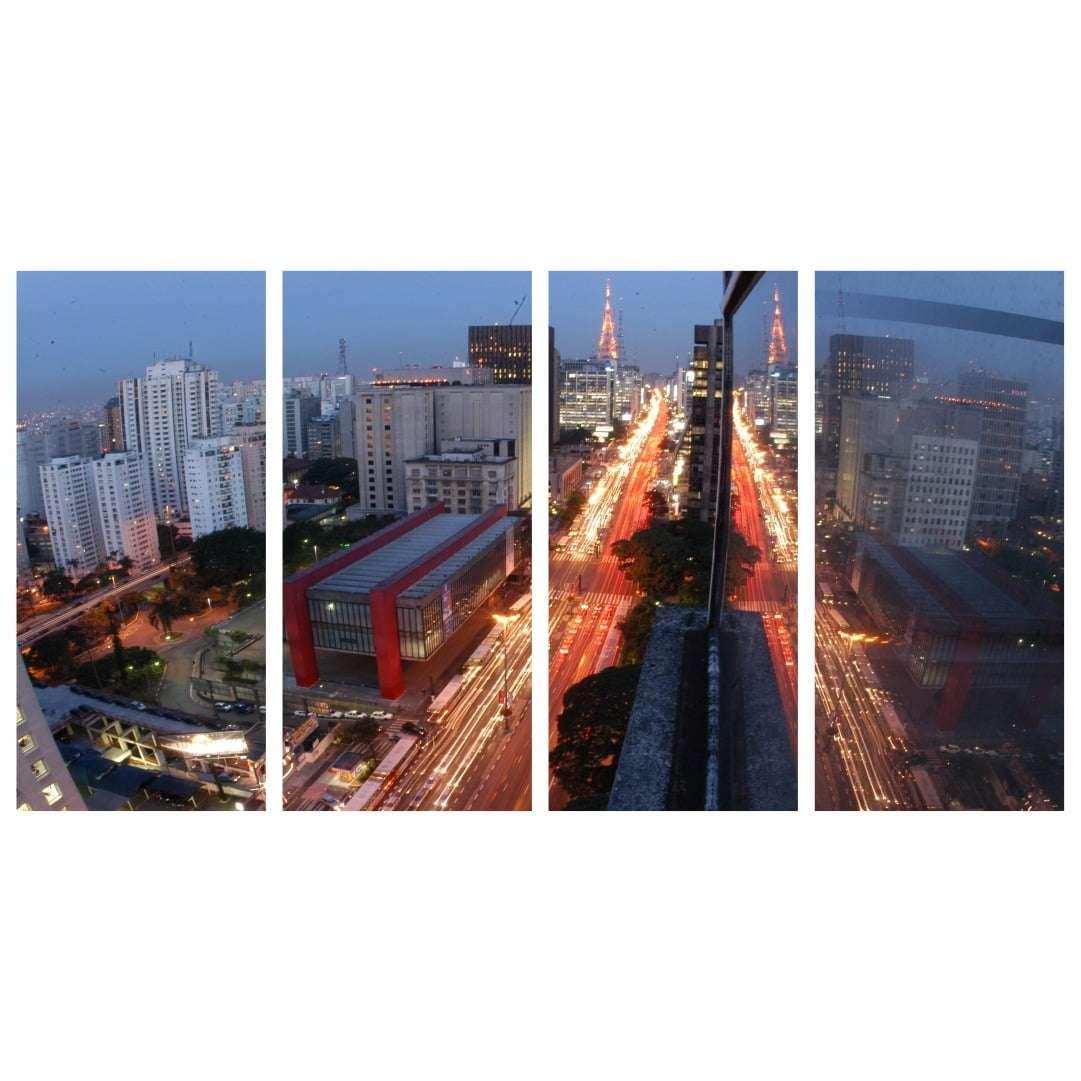 Quadro Avenida Paulista Sao Paulo para decorar