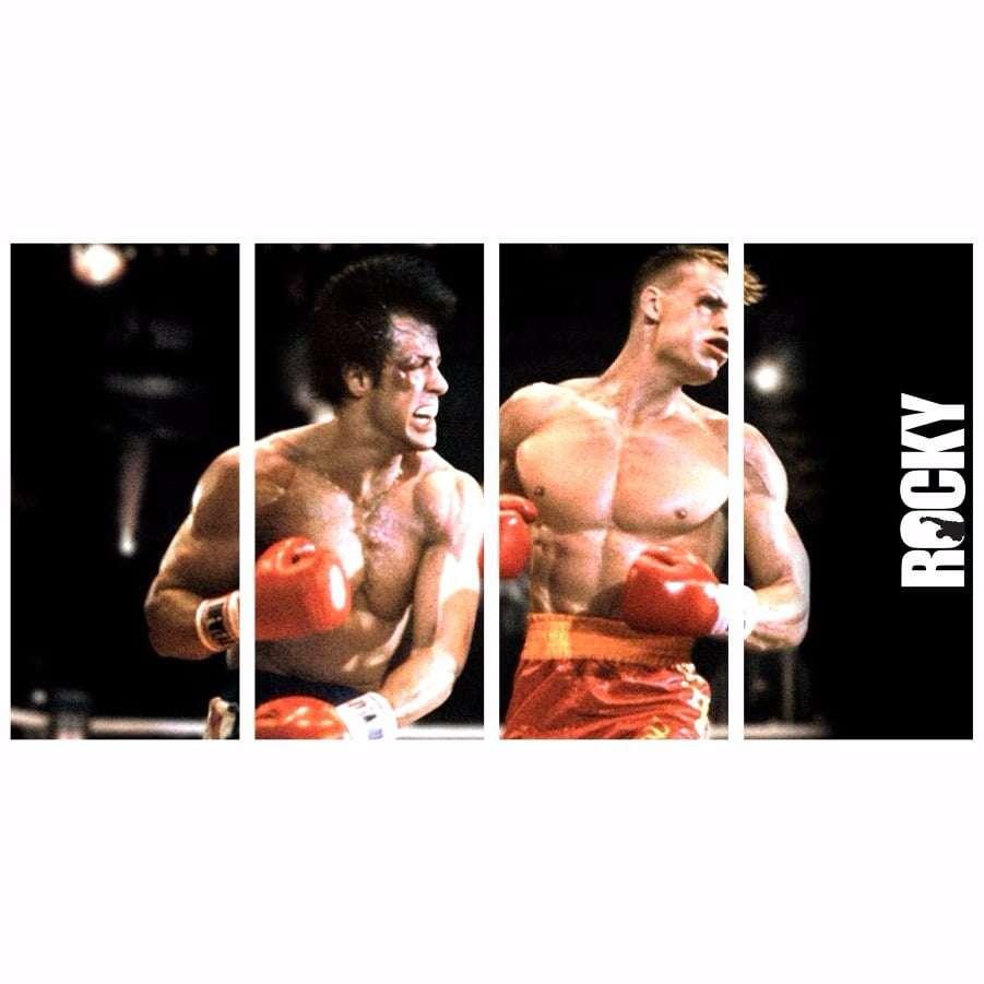 Quadro Rocky Balboa Filme Decorativo