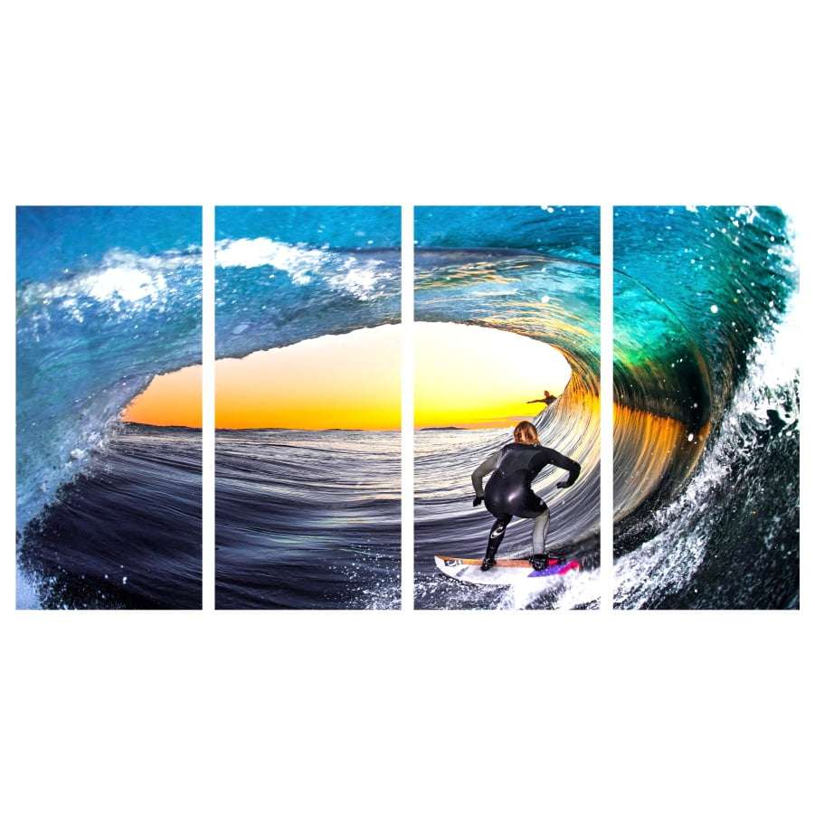 Quadro surf lifestyle para decorar