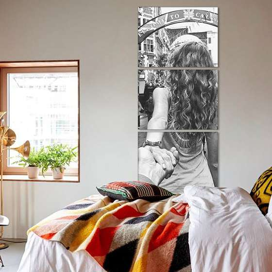 Quadro personalizado foto vertical