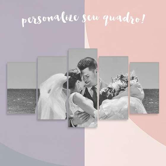 Quadro personalizado casamento decorativo