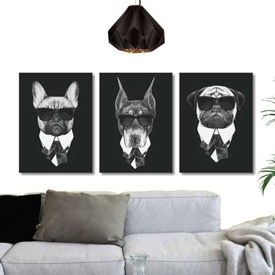 Quadros cães mafia pets