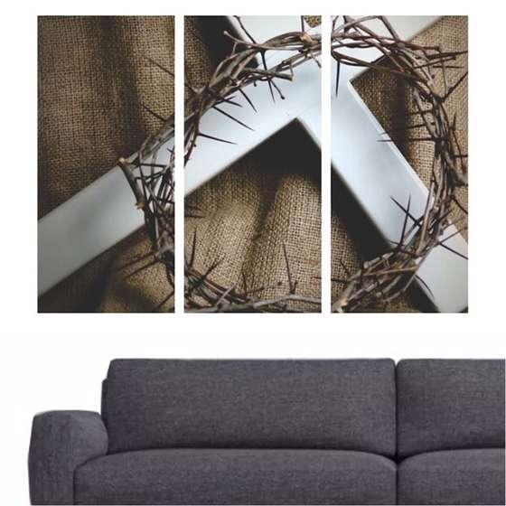 Quadro Coroa De Espinhos Para Decoração De Interiores