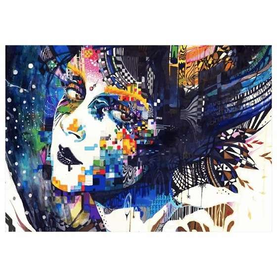 Quadro Arte Moderna Minjae Lee Decorativo