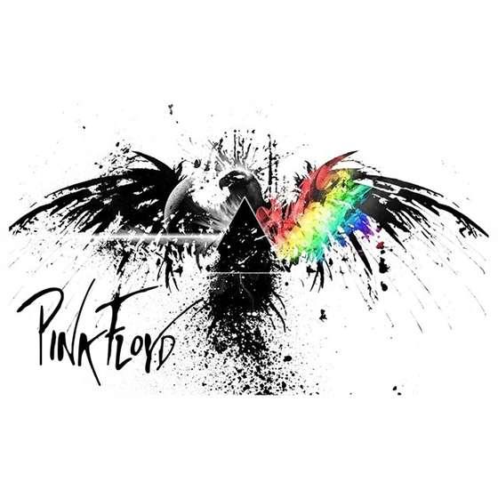 Quadro Pink Floyd logo decorativo