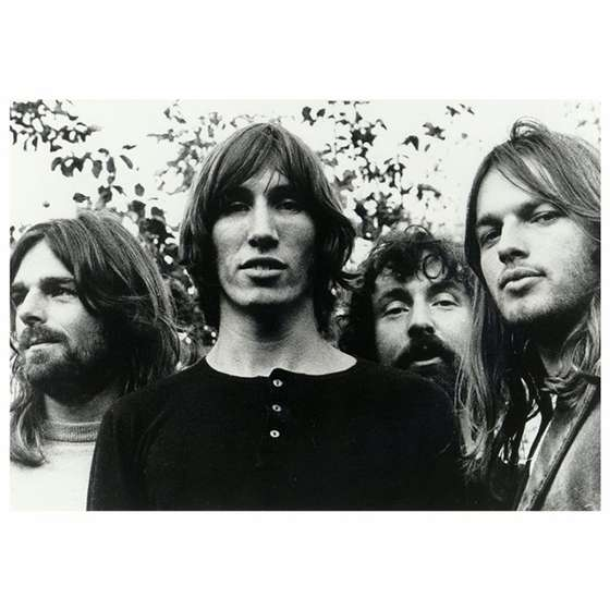 Quadro Banda Pink Floyd Capa CD - Decor Rock Vintage