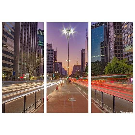 Quadro Avenida Paulista Sao Paulo Decorativo