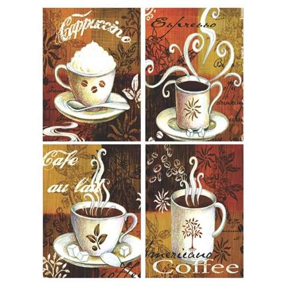Quadros Cafés Para Decoração