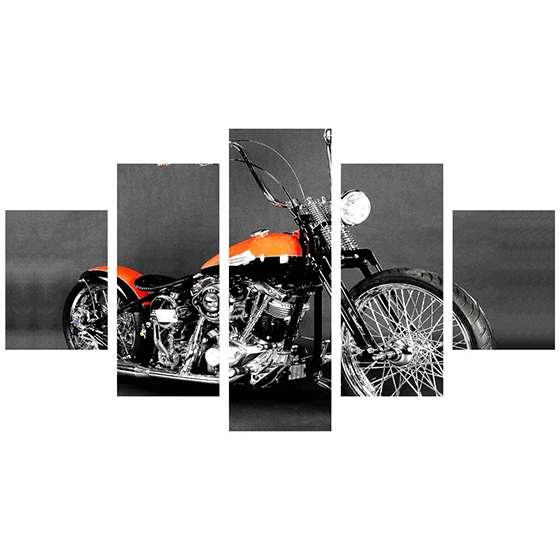 Quadro Harley Davidson Para Decoração