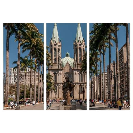 Quadro Catedral da Sé Sao Paulo Decorativo
