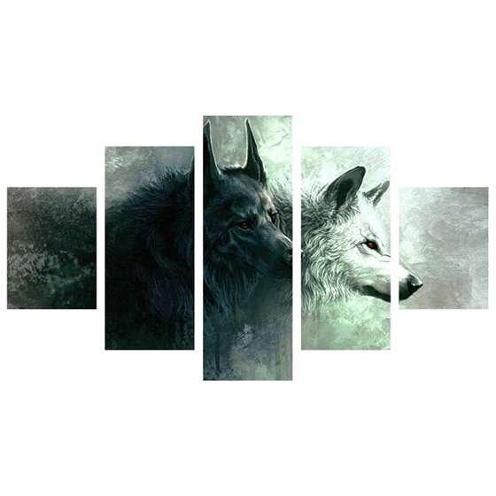 Quadro de lobos
