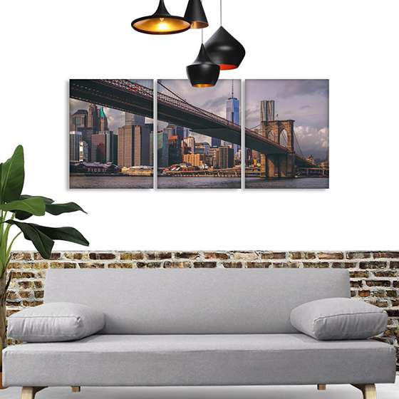 Quadro ponte do brooklyn nova york decorativo