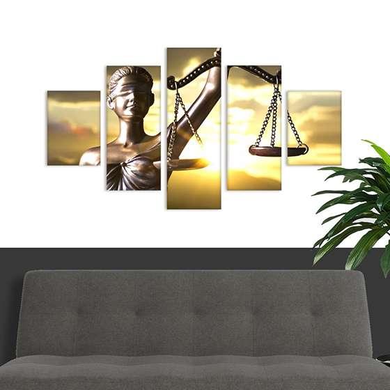 Quadro direito advocacia profissao decorativo