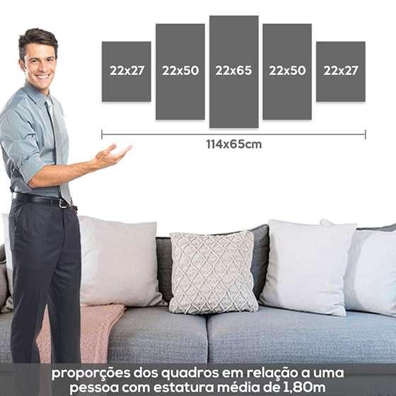 Quadro Decorativo Internacional Time Brasileiro
