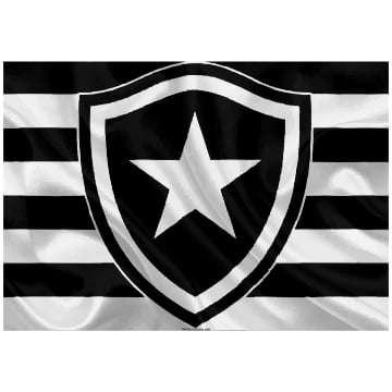Quadro Time Botafogo RJ Para Decorar