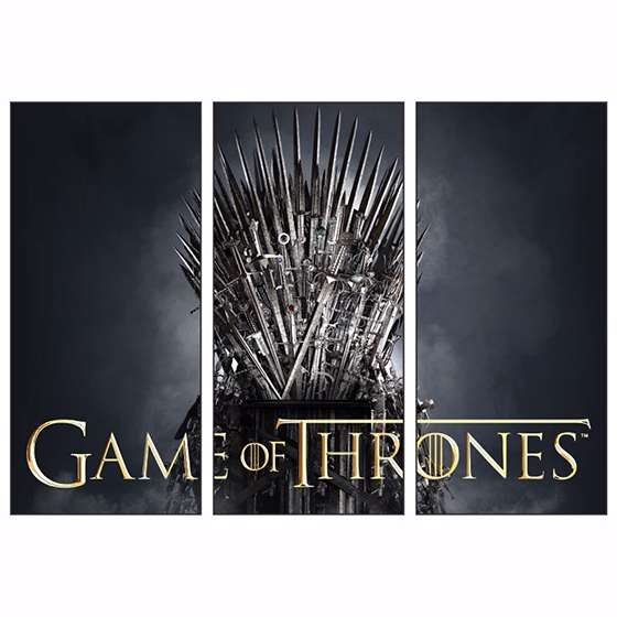 Quadro game of thrones serie para decorar