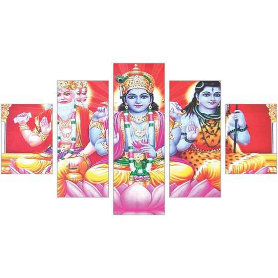 Quadro ganesha hindu decoraçao