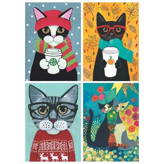 Quadros Gatos Decorativos Pets para sua casa