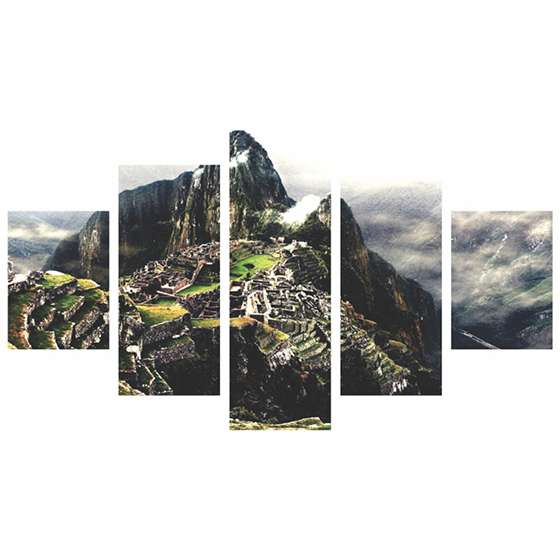 Quadro Machu Picchu 7 Maravilhas decorativo