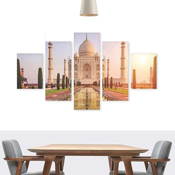 Quadro Taj Mahal India 7 Maravilhas decorativo