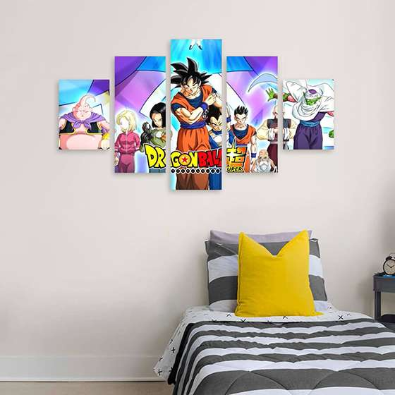 Quadro Dragon Ball Super