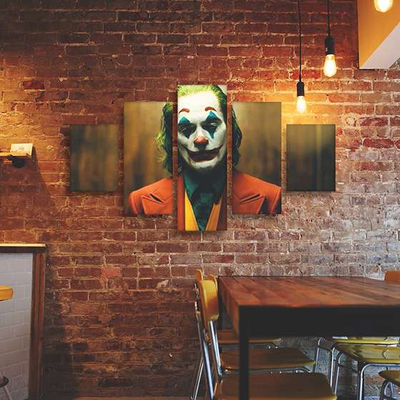 Quadro joker coringa filme decorativo