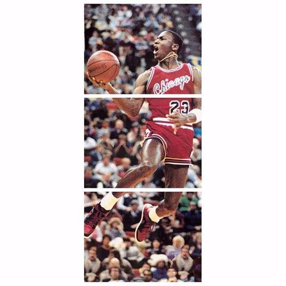 Quadro nba michael jordan jogador de basquete decorativo