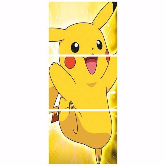 Quadro Pokemon Pikachu Para Decorar
